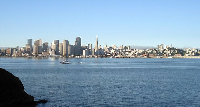 San Francisco seen from Yerba Buena Island