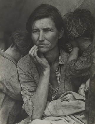Migrant Mother, Dorothea Lange, Collection of Oakland Museum of California.