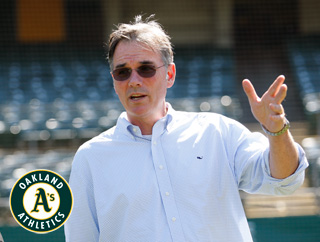 Billy Beane, Oakland Athletics