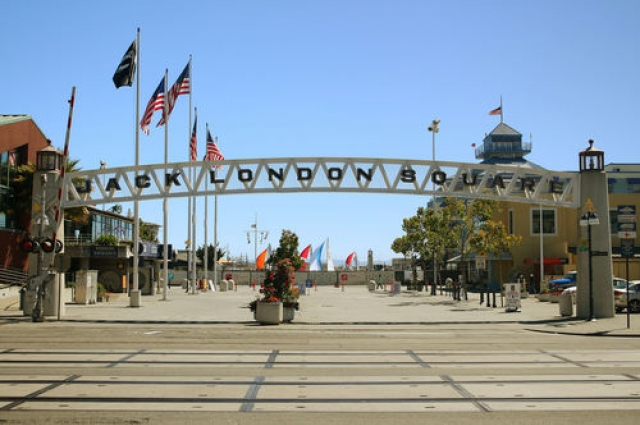 Jack London Square. Photo: Rosencruz Sumera