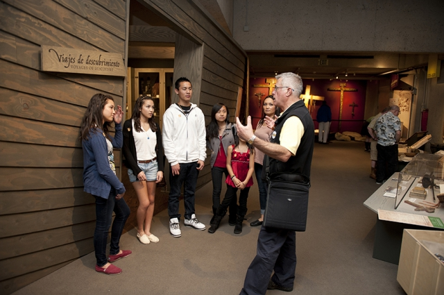 Docent Tours are free with admission at the Oakland Museum of California. Photo: Shaun Roberts