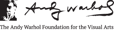The Andy Warhol Foundation for the Visual Arts logo.
