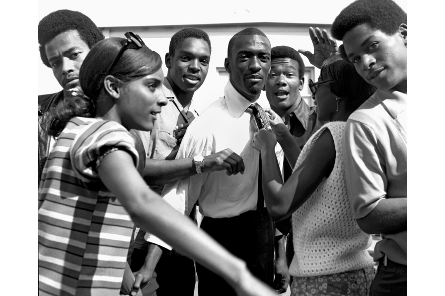 Kenneth P. Green, Sr., Untitled (Laney College students), 1966. © Kenneth P. Green Photography Collection, courtesy of Kenneth Green, Jr.