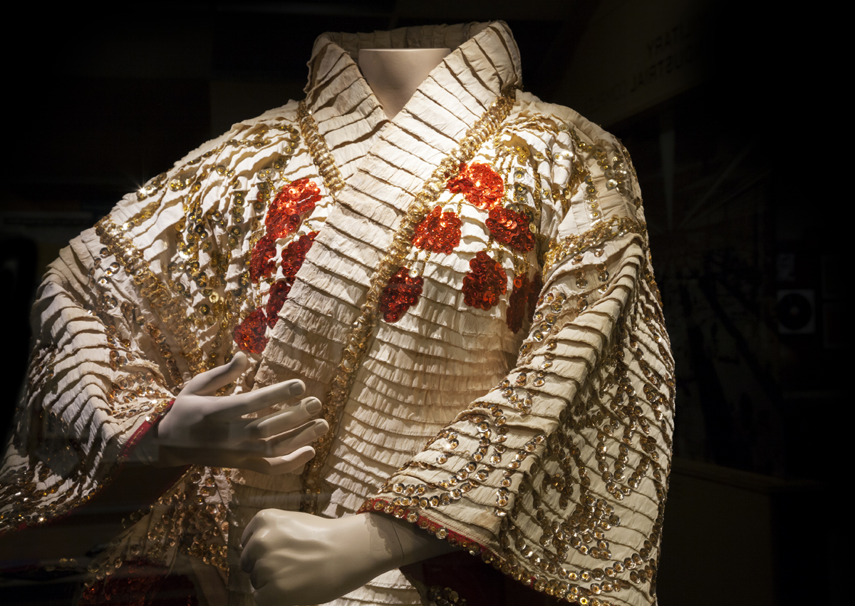 Jose Sarria's kimono on view in the Oakland Museum of California