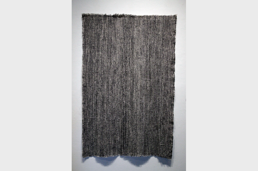 Textile by Jay Trolinger. Photo courtesy of the artist.