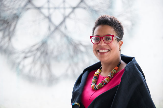 Ayanna Reed, Director of Human Resources at the Oakland Museum of California