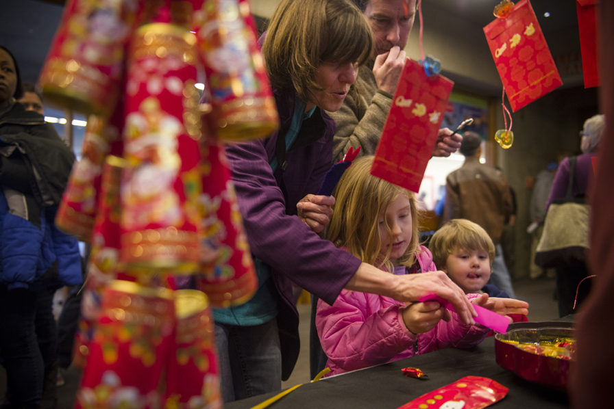 10. The Lunar New Year Celebration at OMCA provides moments of wonder and discovery for the whole family. Photo: Shaun Roberts. Courtesy of the Oakland Museum of California.