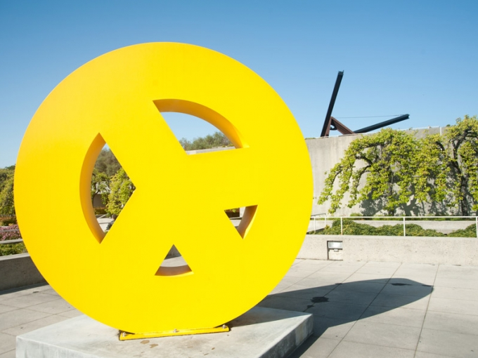 This free architecture tour shares with you a few of the highlights of the incredible building of mid-century modern design at the Oakland Museum of California. Photo: Terry Lorant