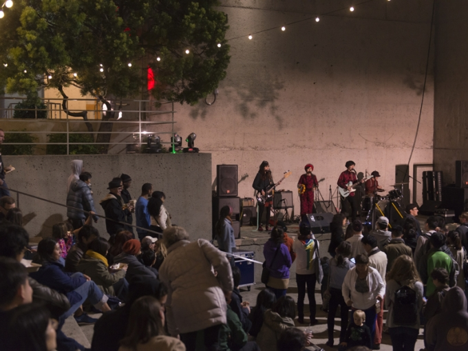 Friday Nights @ OMCA at the Oakland Museum of California on February 19, 2016. Photo: Shaun Roberts