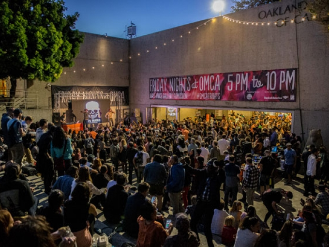 Corporate Appreciation Night at Oakland Museum of California includes free admission to Friday Nights @ OMCA