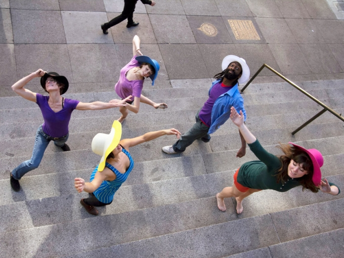 Push Dance Company. Courtesy of dance anywhere. Photo: Weidong Yang.