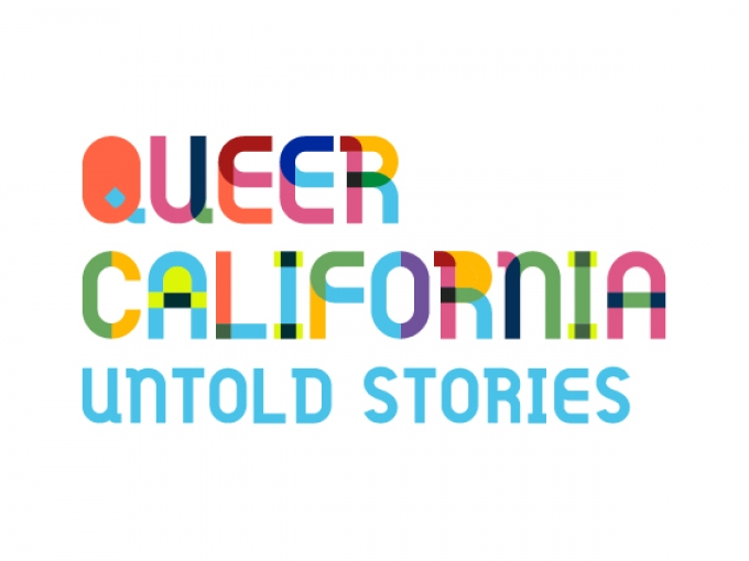Queer California: Untold Stories logo