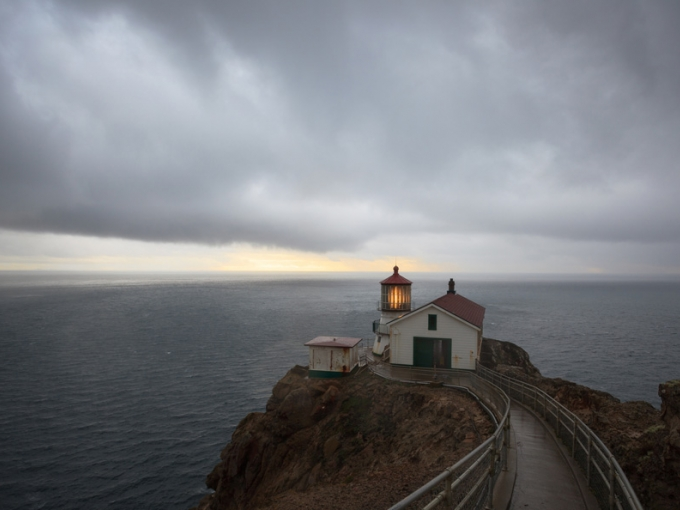 Point Reyes Lighthouse by John Tregoning