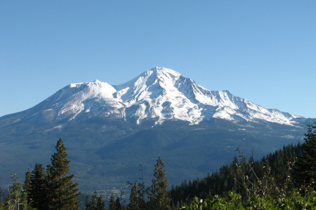Mount Shasta. Courtesy of the Natural Sciences Guild.