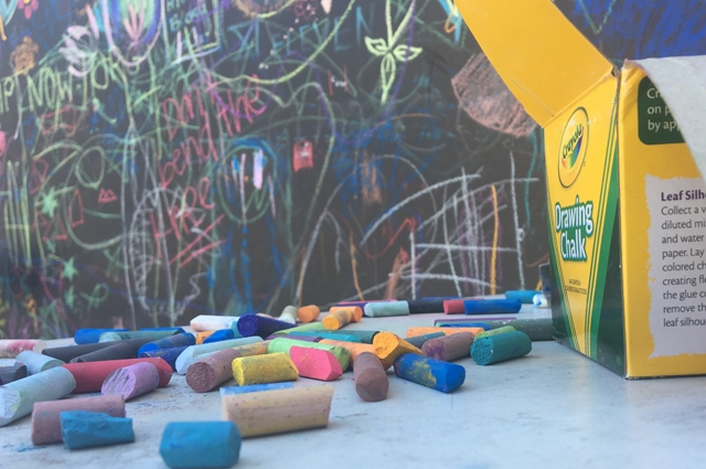 Chalk and Oakland Museum of California Chalkboard