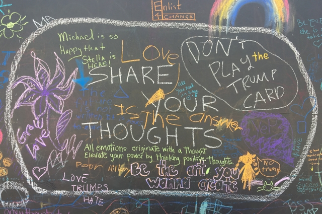 Community voices on the Oakland Museum of California Chalkboard