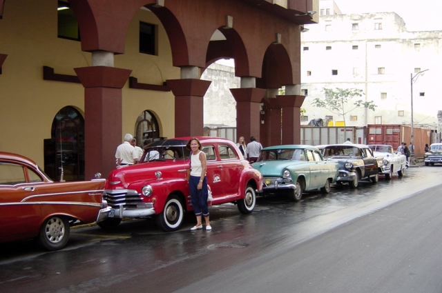 Havana Taxis. Photo: Evans Wyro.
