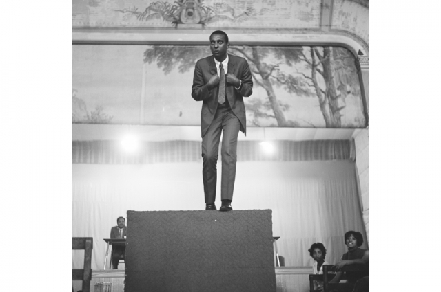 Kenneth P. Green, Sr., Untitled (Stokely Carmichael), 1966. © Kenneth P. Green Photography Collection, courtesy of Kenneth Green, Jr.