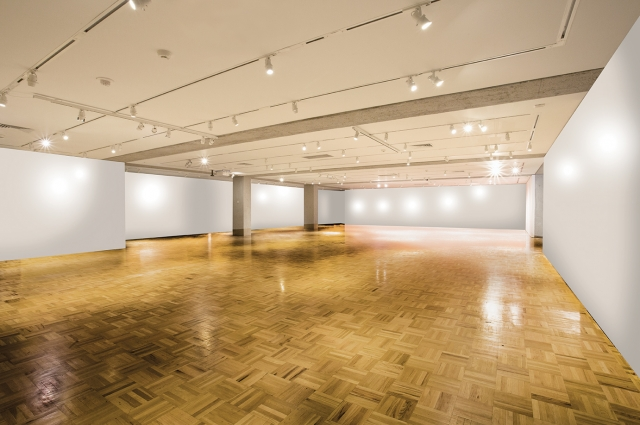 Oakland Museum of California Low Bay exhibition gallery event rental