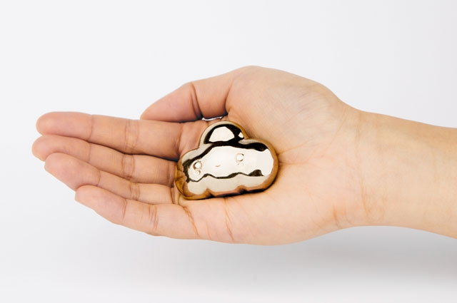 Cloud shaped amulet by FriendsWithYOU OMCA Store Oakland Museum of California