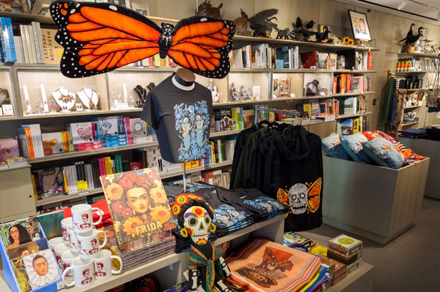 Frida Kahlo and Days of the Dead gifts at the OMCA Store