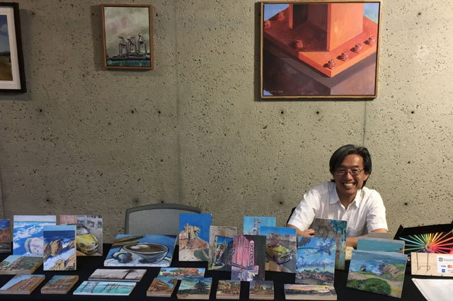 Oakland Museum of California Marketplace @ OMCA vendor during Friday Nights at OMCA.