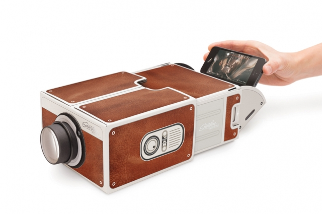 Smartphone projector from the OMCA Store.