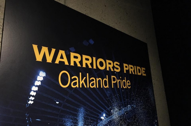 Warriors Pride, Oakland Pride is on view through Fall 2016 at the Oakland Museum of California