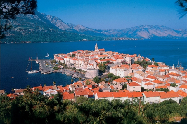 Medieval port of Korčula, Croatia. Courtesy of Gogahan Travel.