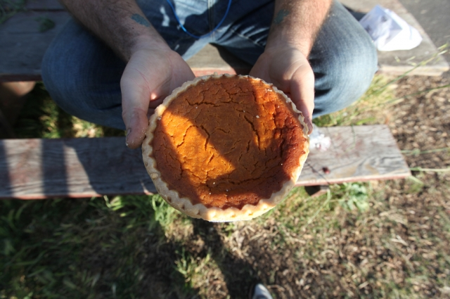 Sweet potato pie from It's All Good Bakery. Courtesy of Detour