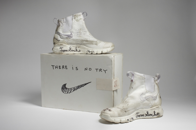 Nike x Tom Sachs, Whites (Original), 2008-12. Collection of the artist. Courtesy American Federation of Arts