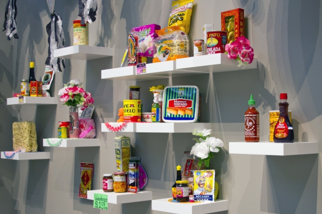 Favianna Rodriguez' Food Migration is featured in Who is Oakland?, an exhibition exploring Oakland's many dimensions through the work of artists who live and work here, and love this city, at Oakland Museum of California April 11 through July 12, 2015.