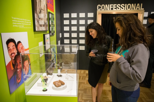 """Paraphernalia is on display in the """"Cannabis Culture"""" section. Photo: Odell Hussey Photography"""