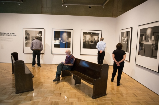 An installation of photography by Carrie Mae Weems in All Power to the People: Black Panthers at 50. Photo: Odell Hussey Photography