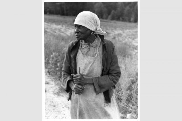 Dorothea Lange, Ex-Slave with a long memory, 1938. © The Dorothea Lange Collection, the Oakland Museum of California, City of Oakland. Gift of Paul S. Taylor.