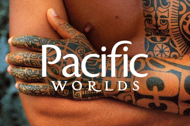 A man with elaborate tattoos in Huahine, Leeward Islands, French Polynesia. © Michel Renaudeau/age fotostock