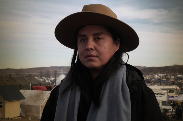 Kelly Bedoni, Reed people of the Folded Arms Clan & Monument Valley Utah, Navajo Nation. Photo by Joey Montoya