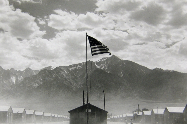 Manzanar Internment Camp photographed by Dorothea Lange