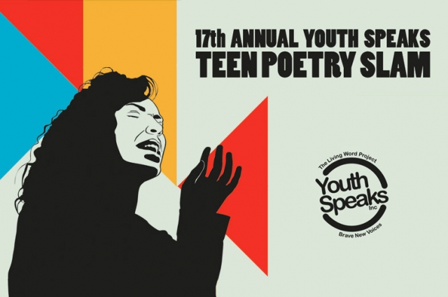Youth Speaks Teen Poetry Slam 2013. Design by Nick James.