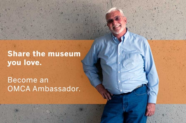 Become an OMCA Ambassador today and share the museum you love, make new friends, and give back in Oakland. Photo: Terry Lorant