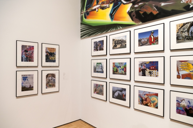 Photography inside special exhibition RESPECT: Hip-Hop Style & Wisdom
