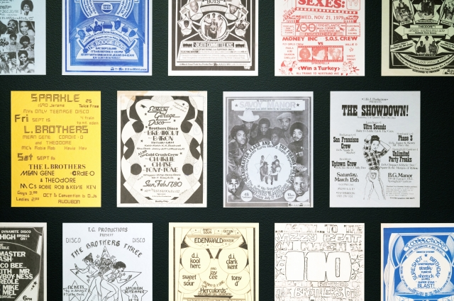 Party fliers and posters from Hip-Hop concerts