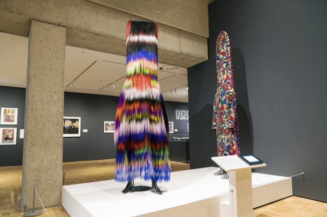 Sound suits by artist Nick Cave on display