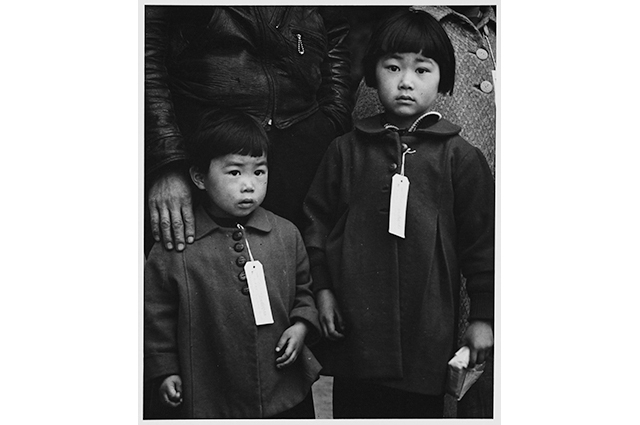 Japanese Children with Tags