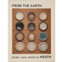 Paper brochure for From The Earth: plates, cups, bowls by HEATH
