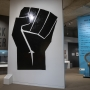 Entrance to Black Power exhibition
