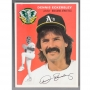 Dennis Eckersley signed magazine cover