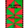 A red and green booklet titled: It's Nation Time by Imamu Amiri Baraka (Leroi Jones) Third World Press Chicago. $1.50 appears in the top right corner