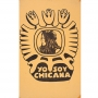 Poster that says Yo Soy Chicana