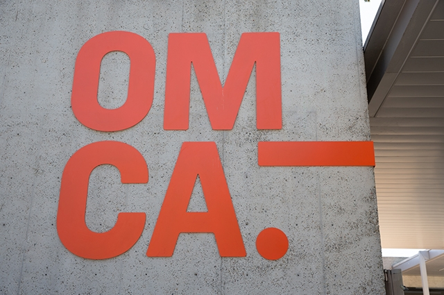 The OMCA logo at our museum entrance.